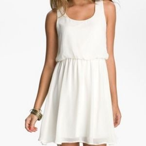 Lush chiffon A-line dress